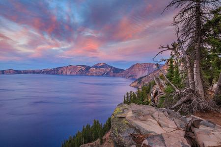 Crater Lake National Park, Oregon, USA Stock Photo