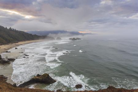 state of oregon: Ecola State park, Oregon Coast, USA