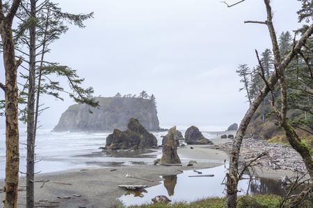 Ruby Beach, Olympic National Park ,Washington, USA Stock Photo
