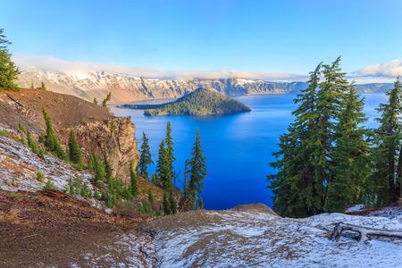 crater lake: Crater Lake National Park, Oregon, USA Stock Photo