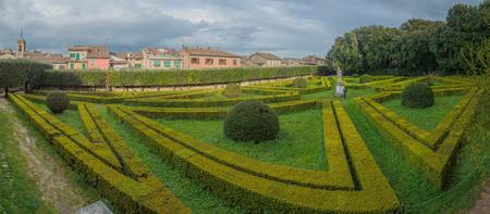 san quirico: Leonini Gardens, San Quirico dOrcia
