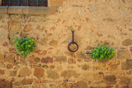 pienza: On the streets of the ancient Pienza, Italy