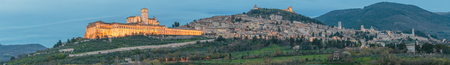 francis: Assisi - the ancient city of St. Francis, Umbria region, Italy Stock Photo