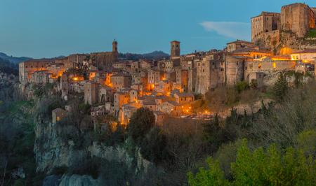 Sorano - Etruscan tuff city, Italy
