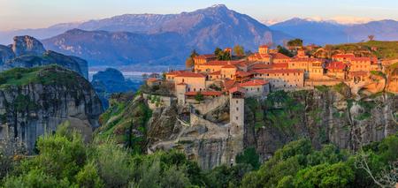 Monasteries of Meteora, Greece Standard-Bild