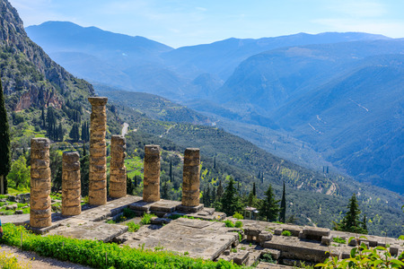 Delphi Archaeological Site, Ancient Greece