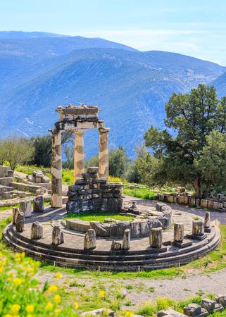 デルファイ考古学的なサイト、古代ギリシャ