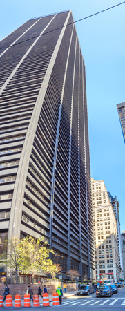 MANHATTAN, NEW YORK, USA: Moment of city life