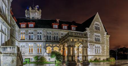 Palacio de La Magdalena, Santander, Cantabria, Spain Editorial