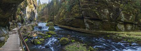 Gorges of Kamenice, Bohemian Switzerland, Czech Republic