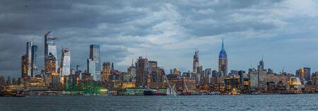 View of Manhattan skyline, New York City, USA