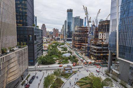 Hudson Yards, Building Construction, New York City