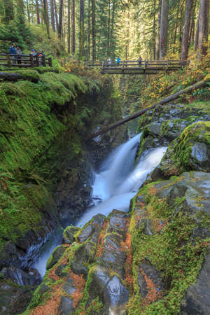 Sol Duc Falls, Olympic National Park, USA