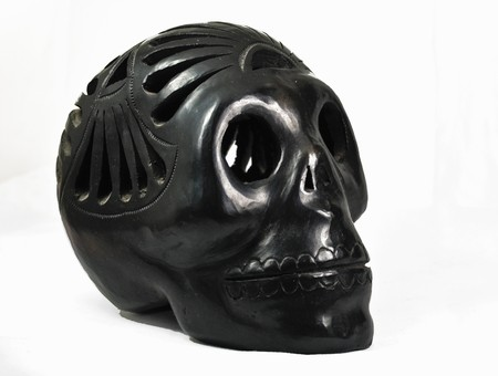 Mexican black skull