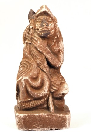 old Mayan sculpture