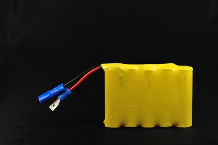 Picture of a Battery pack on a dark background