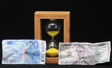 Huorglass and Money - Time is Money photo