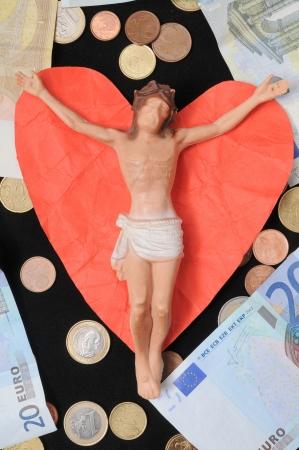 Jesus Christ and Money  photo