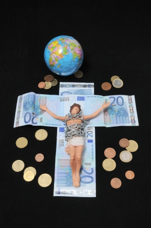 Jesus Christ and Money photo