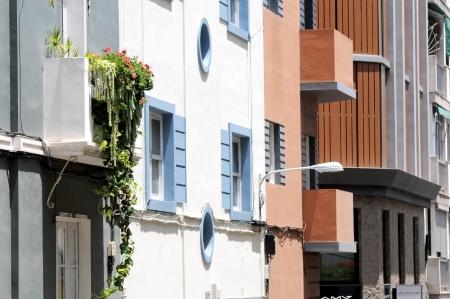 A Terrace Full of Plants in a City in Spain photo