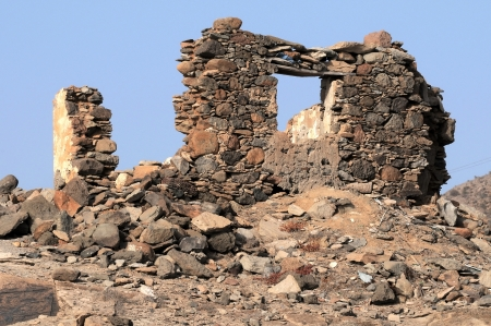Ancient Rock House in Gran Canaria Island, Spain Stock Photo - 22942926