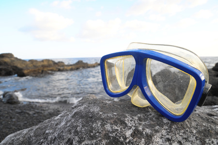 Old Vintage Diving Mask l Near The Atlantic Ocean photo