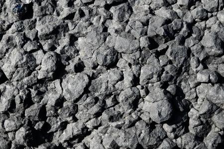 Stone Texture Hardened Lava in Tenerife Volcanic Canary Island photo