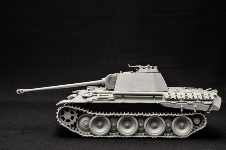 second world war: Tank  Track tank from the Second World War  Fighting vehicle  Stock Photo