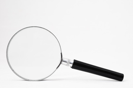 Magnifying Glass Loupe on a White