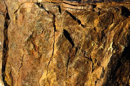 oxydation: Orange Oxydation Texture of Old Metal Iron