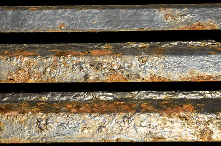 Old Vintage Blue Painted Metal with Rust Texture Stock Photo - 26837546