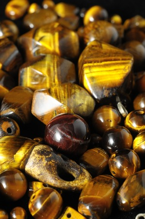 Tiger Eye Stones Ready to Make Handmade Jewelry photo