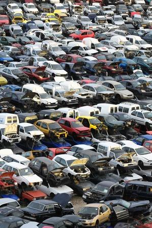 European Car sloop in Tenerife Canarische Eilanden Spanje Stockfoto - 27067622