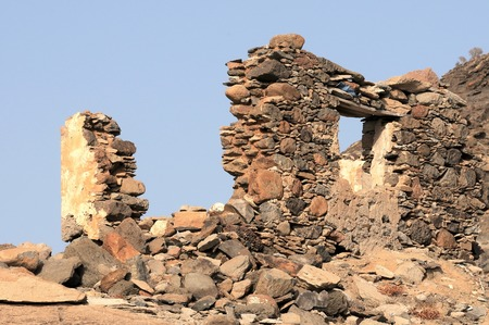 Ancient Rock House in Gran Canaria Island, Spain photo