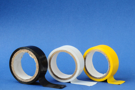 Round Adhesive Sticky New Insulation Tape Roll photo