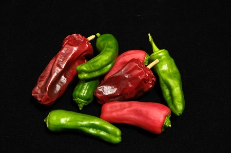 Some Very Hot Chili Peppers Ready to Cook photo