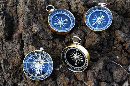Compasses on the Rocks photo