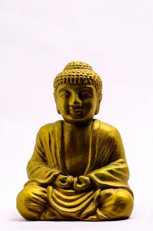 nataraja: Oriental Asian Statue on a White Background Stock Photo