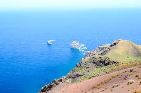 birdseye: Aerial View Of El Hierro Canary Island Spain