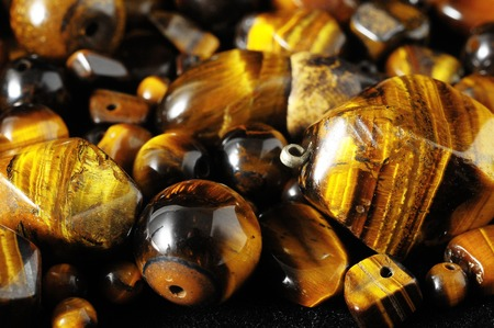 chatoyant: Tiger Eye Stones Ready to Make Handmade Jewelry