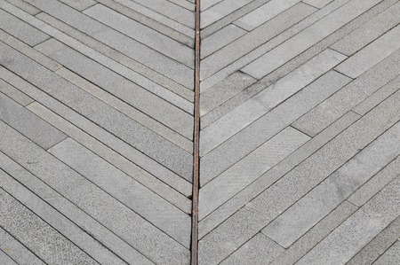 modern rock: Modern Rock Floor Texture made of thin rocks Stock Photo