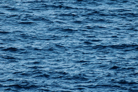Blue Water Texture Pattern at Noon on the Atlantic Ocean