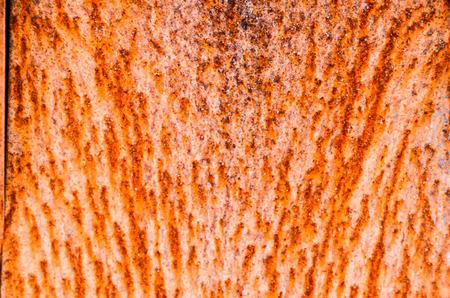 Orange Rusty Iron Metal Texture Abstract Background photo