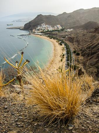 canarias: Las Teresitas beach of Tenerife island, Canarias