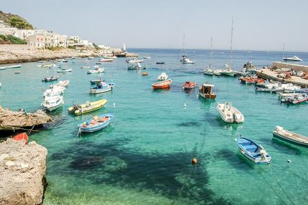 Beeldmening van Egadi-Eilanden, Sicilië, Italië, Europa Stockfoto