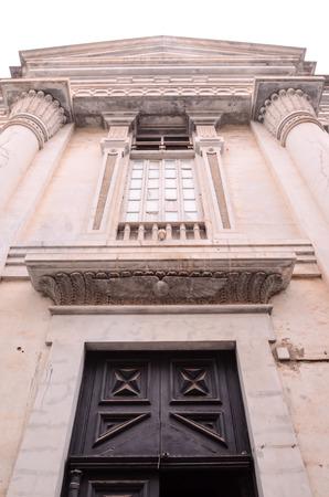 masonic: Old Vintage Masonic Temple in Tenerife Canary Islands Stock Photo