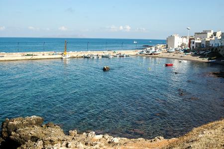 egadi: View of Egadi Islands in Sicily, Italy