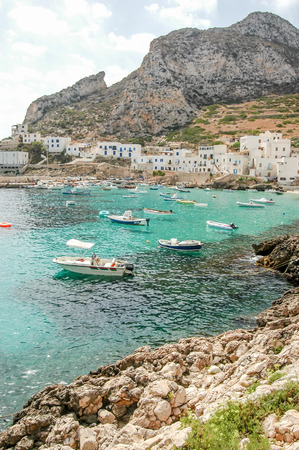 Picture View of Egadi Islands, Sicily, Italy, Europe