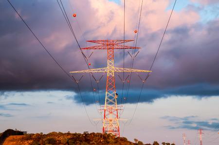 High Voltage Elektrisch Transmissie Toren Energy Pyloon