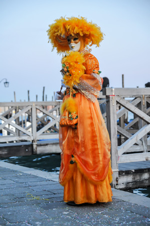 carnival in venice: Traditional Carnival Venice mask with Colorful Decoration